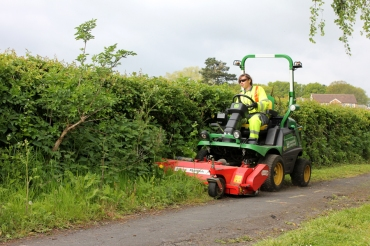 17. County council Highways grass cutting