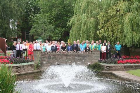 Bloom Board & Volunteers 2015